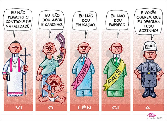 Charge Violencia 2005