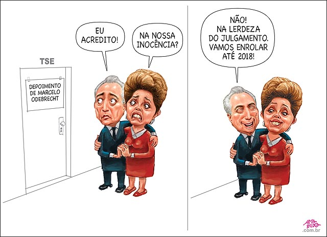 Depoimento Marcelo Odebrecht temer dilma caixa dois campanha chapa 2014 pgr lentidao do processo